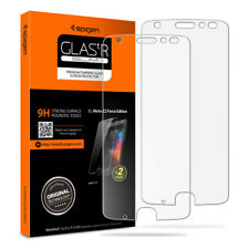 Spigen Tempered Glass Moto Z2 Force Screen Protector Case Friendly 9h Hard