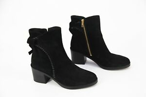 ff09600f1dd Details about *NEW* in box $185 Ugg Australia Fraise Black Whipstitch Suede  Ankle Boots sz 10