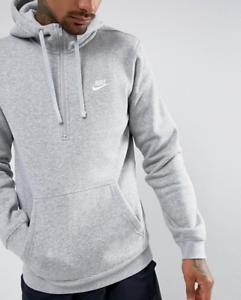 nike swoosh half zip hoodie