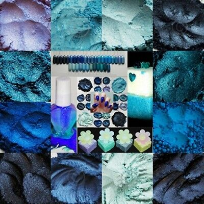The Colour Shack® & Gni® *blues* Multi Colours Multi Usage Mica Pleasant In After-Taste Crafts