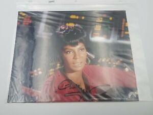 NICHELLE-NICHOLS-Uhura-Autograph-STAR-TREK-Signed-8x10-Photo-with-UACC
