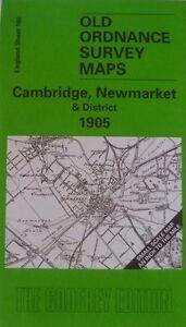 Old-Ordnance-Survey-Maps-Cambridge-Newmarket-Chippenham-Waterbeach-Area-1905-New