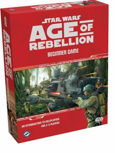 Star Wars Role Playing Game - Age Of Rebellion - Beginner Game