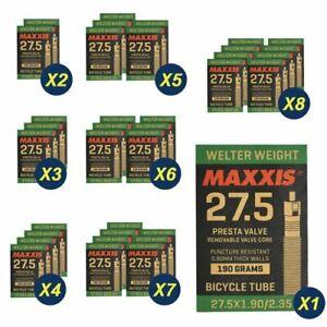 Maxxis Welter Weight Presta Valve Tube 27.5 x 1.90-2.35//48mm