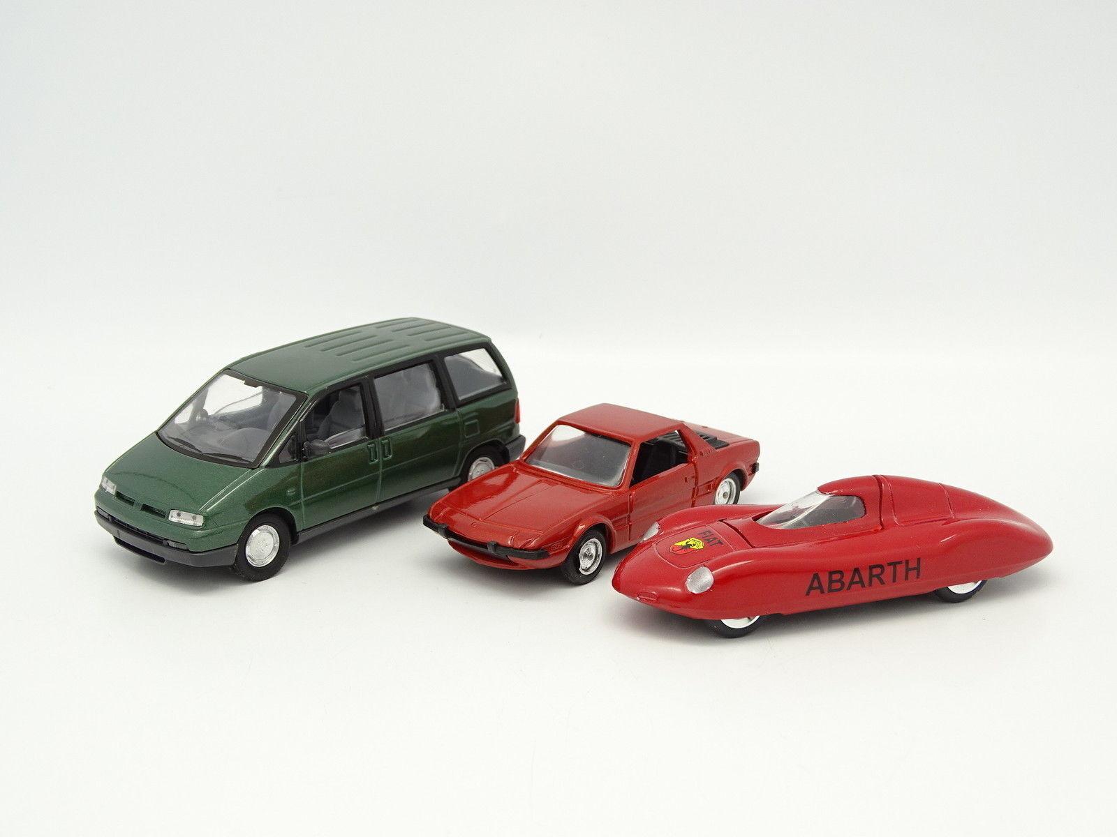 Solido sb 1 43 43 43 - Juego de 3 Fiat 53923a