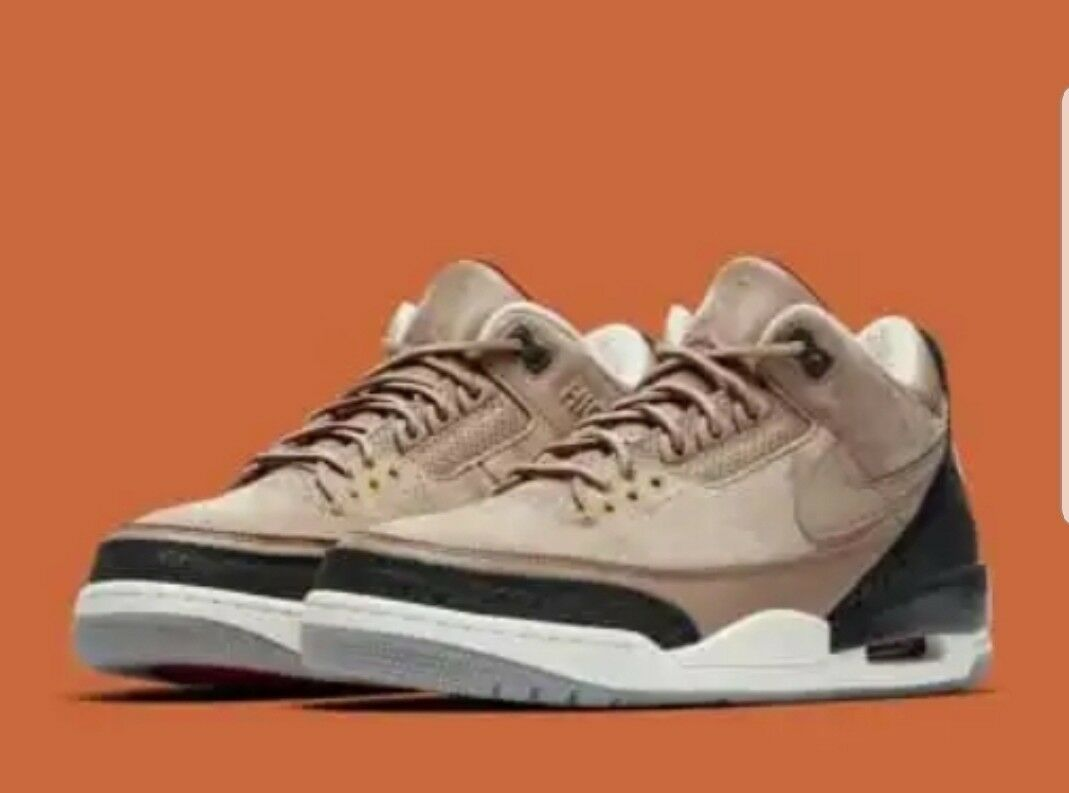 2018 Nike Air Jordan 3 Retro JTH NRG (Bio Beige) Authentic AV6683-200