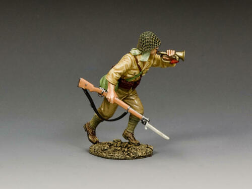 JN065 Charging Bugler by King /& Country
