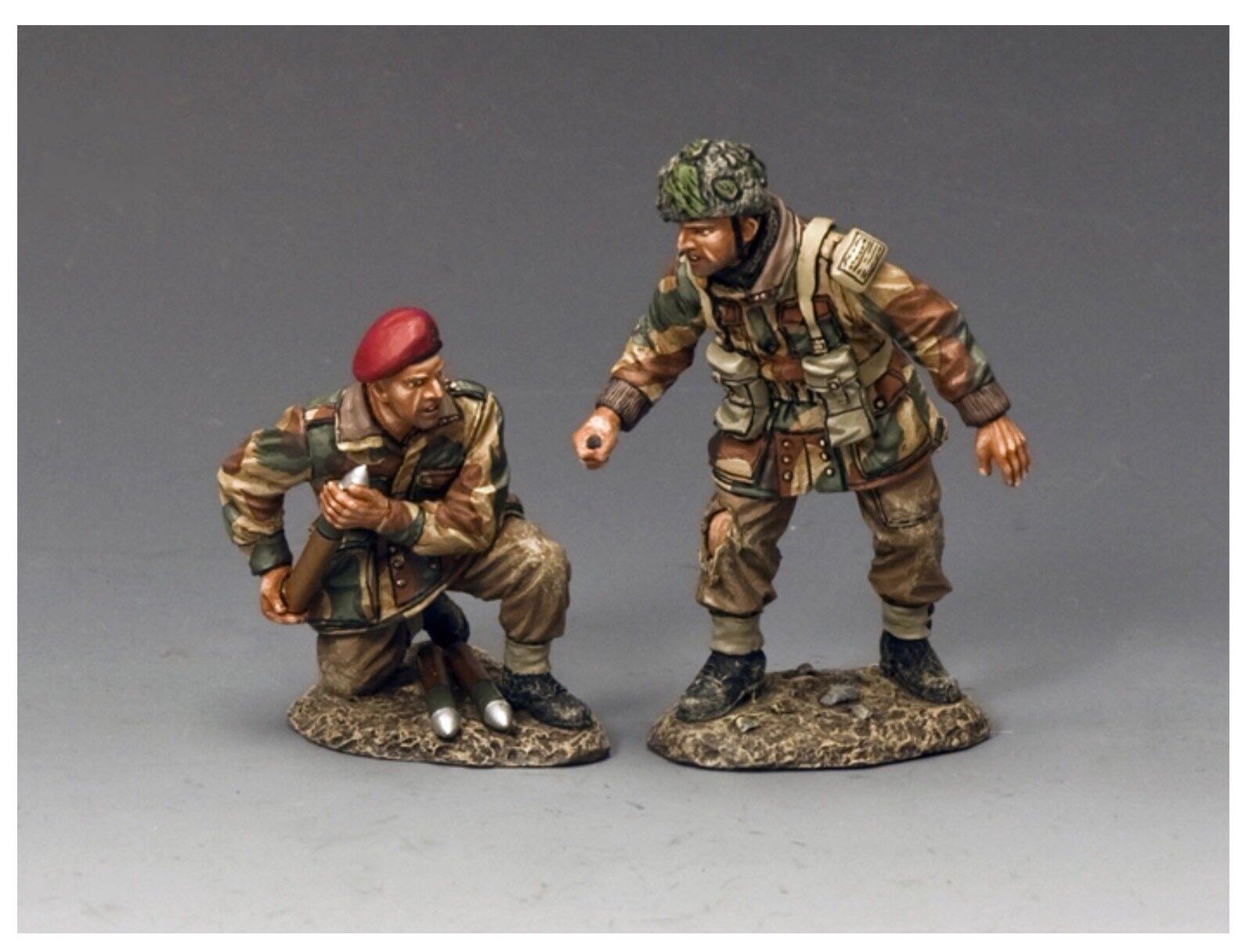 MG048(P) WW2 Airborne Pair Of Arnhem Arnhem Para Gunners Mint In Box MG048
