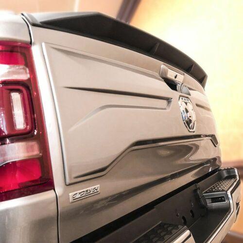 2019 Ram 1500 Truck Air Design Tailgate Rear Lip Spoiler Satin Black New CH07A16