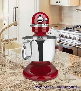 Kitchenaid Professional 6000 Hd Stand Mixer 6 Quart Empire Red