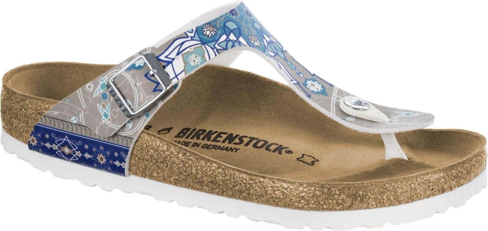 Birkenstock Gizeh Ancient 35-42 Mosaic Taupe Zehensteg Größe 35-42 Ancient Fußbett normal c5492a