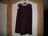 Basic Editions Sears/kmart Plaid Skirt, Size 6 With Tag