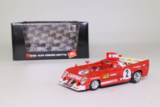 Brumm R240; Alfa Romeo 33TT; 1975 1000km Spa 1st; Bell; Excellent Boxed