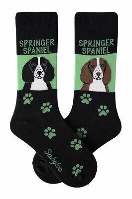Springer Spaniel Crew Socks Unisex