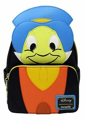 NEW Loungefly Faux Leather Wallet Disney Pinocchio Jiminy Cricket