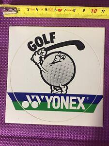 Aufkleber-YONEX-Golf