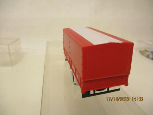 Mes-66218 1:87 Herpa mercedes camiones bomberos muy buen estado