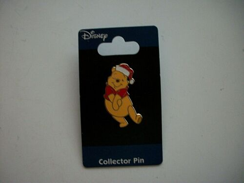 Disney Holiday Series 2006 Pooh in Santa Hat Christmas Pin LE~Jerry Leigh