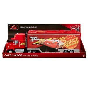 Disney Cars Mack Truck Hauler Fahrzeugkoffer Sammelkoffer