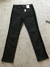 Per Una Roma Rise Black Skinny Jeans Size 10 Short BNWT Free Sameday P/&p