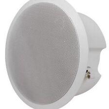 "One Only White MCM Custom Audio 5-1//4/"" 2-Way Cabinet Speaker #80-493"
