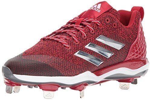 Adidas Performance Womens size 8 PowerAlley 5 TPU Mid Softball, Power B39219