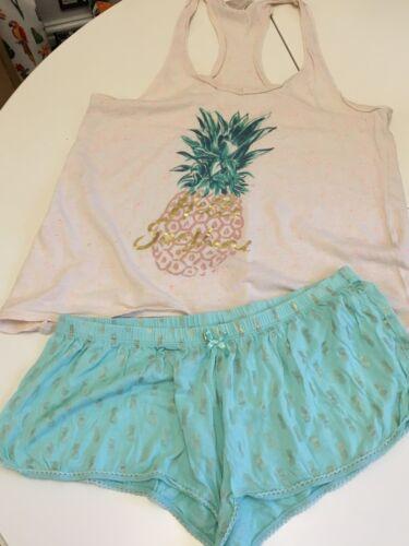 Set Pineapple Taglia Accessorize M Wear Night pezzi Ladies 2 OUxFI