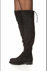 c14e0505f753 Sam Edelman  Paloma  Black Suede Over The Knee Boot Women Size 5