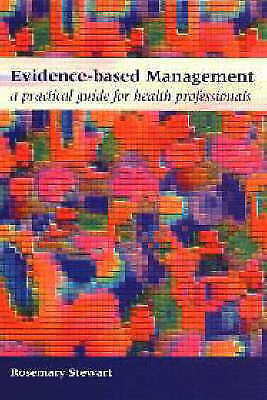 1 of 1 - Evidence-Based Management: A Practical Guide for Health Professionals (National