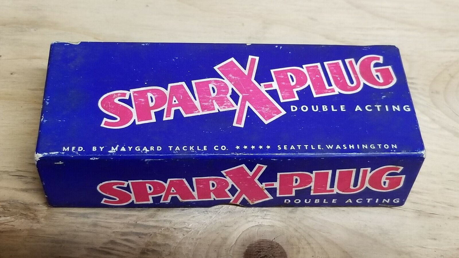 VTG (circa 40's-50's) SPARX-PLUG Fishing Lure With Original Box And  Paperwork  cost-effective