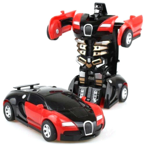 1:18 Transformer Auto Rennauto Roboter Mit Fernbedienung Motor Tolle Spielzeug