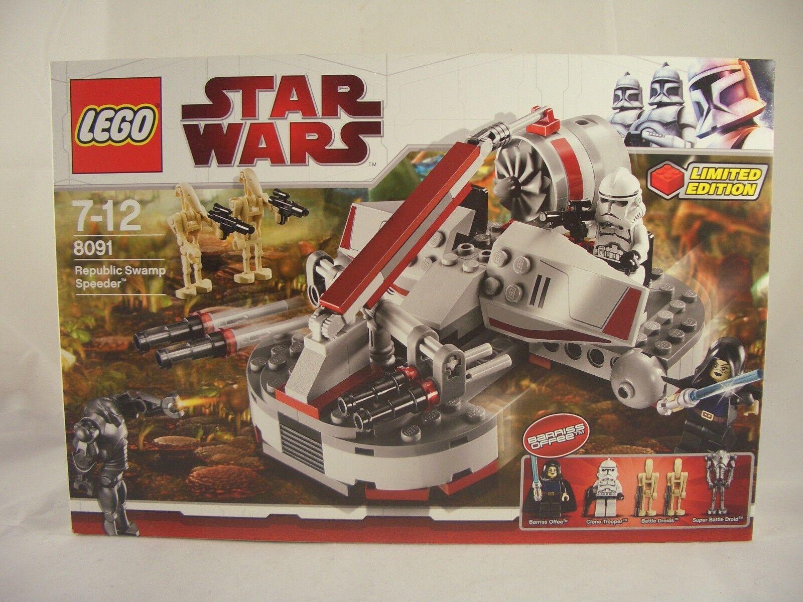 LEGO Star Wars 8091 Republic Swamp Speeder New Sealed