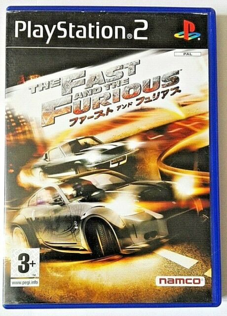 The Fast And The Furious Tokyo Drift - PS2 PlayStation 2 - PAL