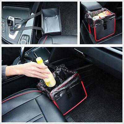 Universal 1Pcs Car Litter Garbage Leak Proof Bin Wastebasket Holder Storage Box