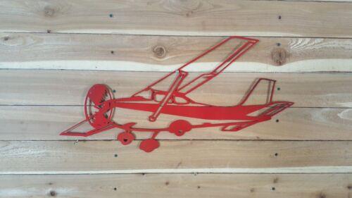 "Large Cessna Airplane 18/"" Hand Made in Waco Texas wall art decor CNC Plasma"