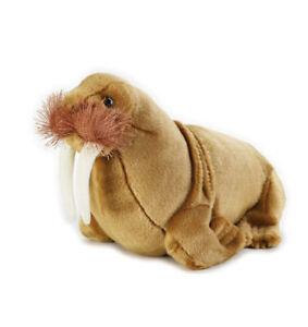 Walrus-Aquatic-soft-plush-toy-12-034-30cm-National-Geographic-stuffed-animal-NEW