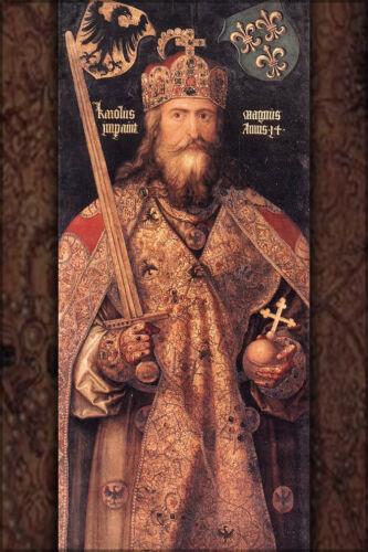 Many Sizes; Charlemagne Poster By Albrecht Dürer