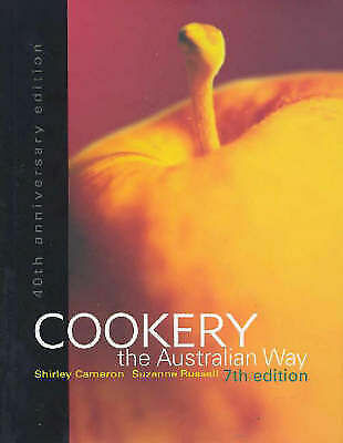 Cookery the Australian Way 40th Anniversary 7th Ed Shirley Cameron Hardcover
