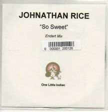 (AC505) Johnathan Rice, So Sweet - DJ CD
