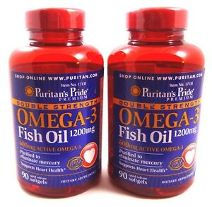 2x double strength omega 3 fish oil 1200 mg 600 mg active for Does fish oil expire