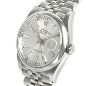 Rolex-Datejust-126200-Steel-Domed-Bezel-36mm-Silver-Index-Jubilee-Bracelet-Auto