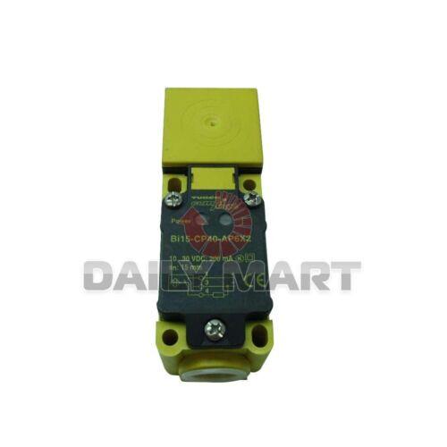 NEW Turck BI15-CP40-AP6X2 Inductive Proximity Switch Sensor 3-Wire DC 15mm Range