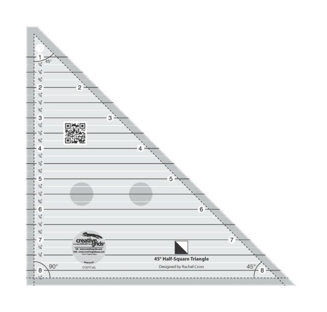 Creative Grids 45 Degree Half-square Triangle Sewing and Quilting ...