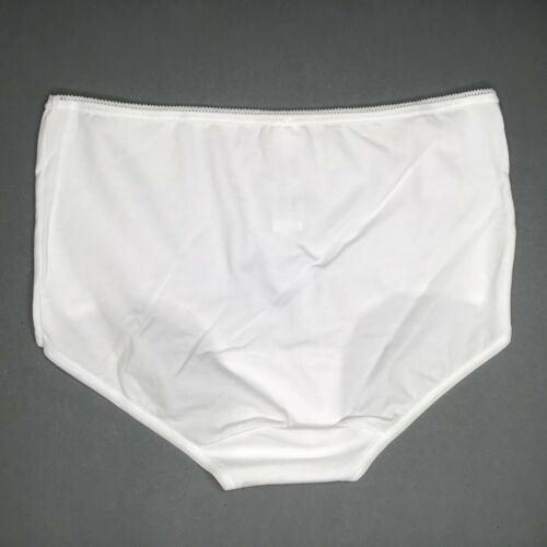 42  Neu 40 Sloggi 24//7 Cotton Midi Damen Unterhose Slip Baumwolle Weiß Gr