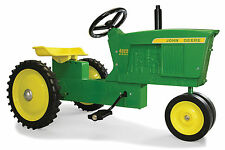 NEW! ERTL *JOHN DEERE* Model 4020 Narrow Front STEEL *PEDAL TRACTOR* *NIB!*