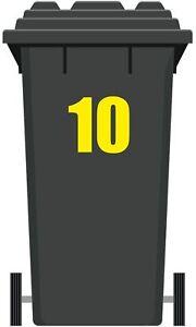 Dechets-refuse-recyclage-Wheelie-Bin-Number-Vinyle-Autocollant-Large-7-7-034-19-5-cm-haute