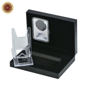 WR-Three-piece-Coin-Slab-Holder-Display-Stand-Case-w-Coin-Collection-Gift-Box