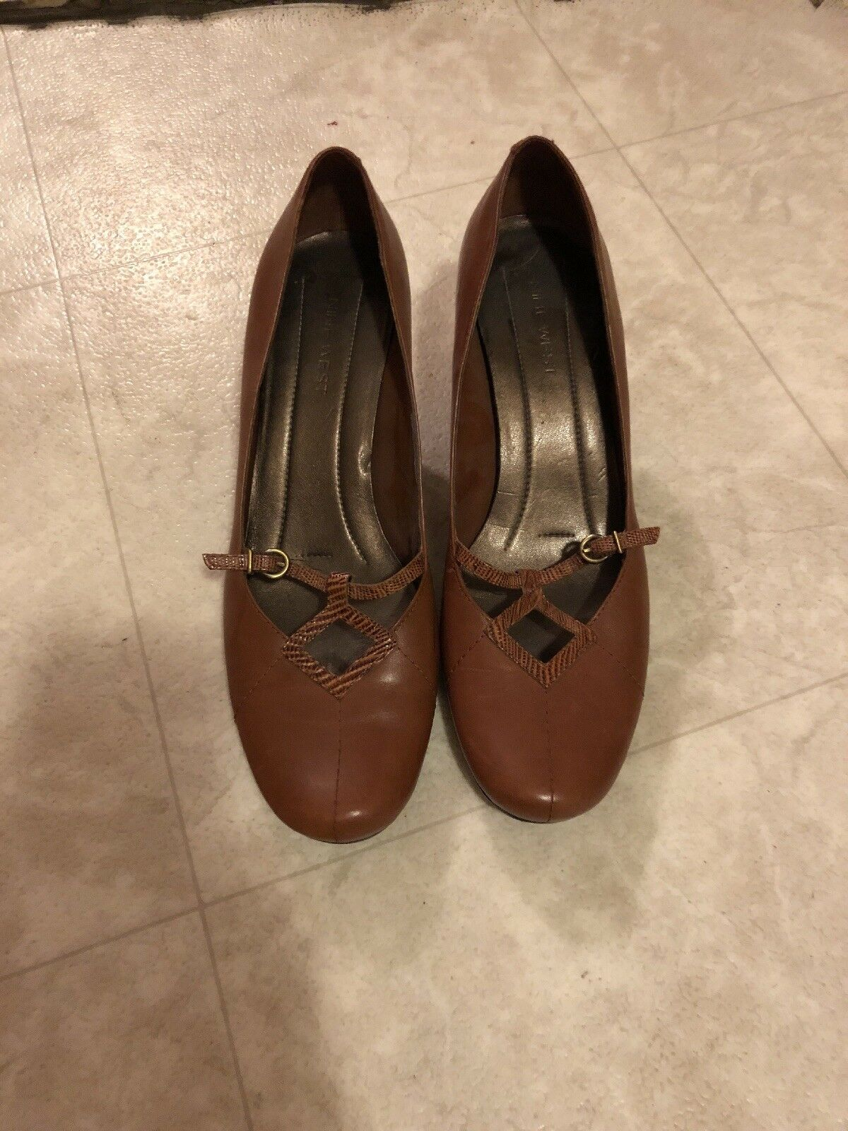 Gentleman/Lady nine west shoes 8.5 in Crazy price First grade in 8.5 its class Excellent workmanship 1a5047