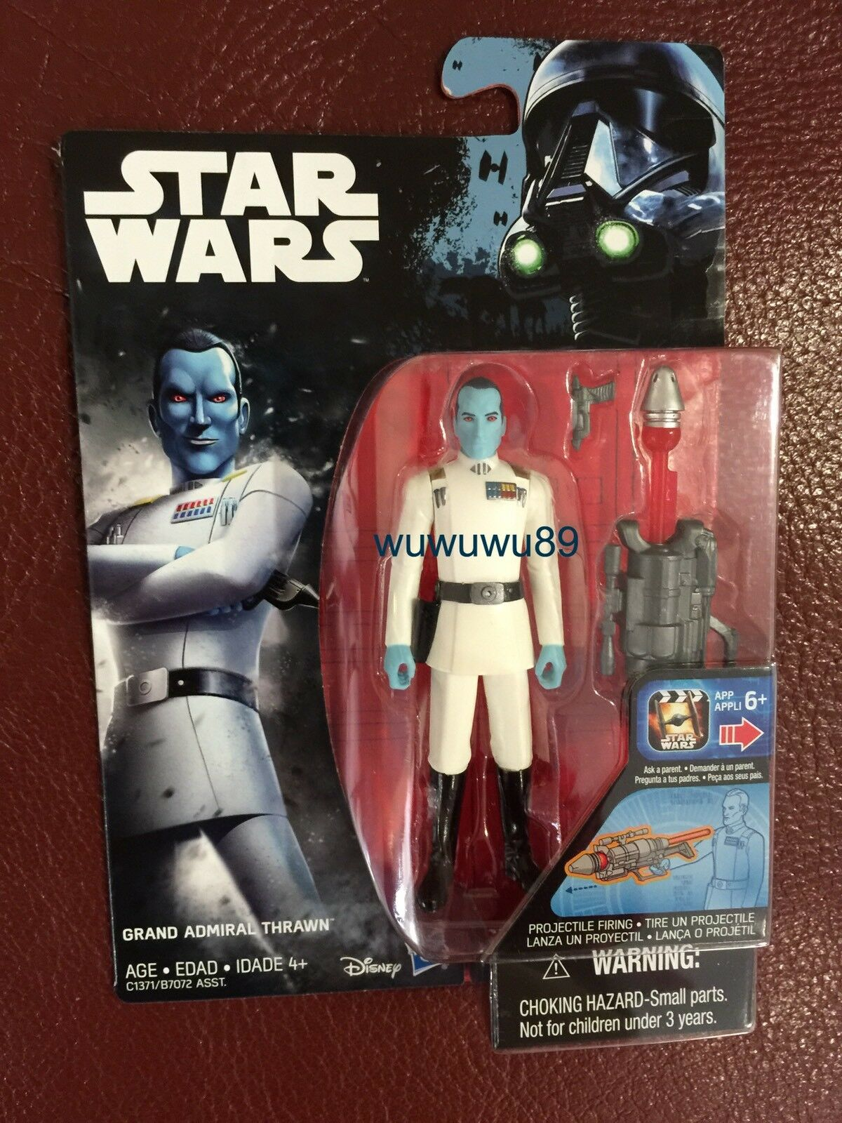 Star Wars Rogue Rogue Rogue One Rebels Grand Admiral Thrawn 3.75 Inch bluee Yellow Red Figure d91104
