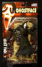 McFarlane Toys The Scream Ghost Face Movie Maniacs Series 2 AF & Poster Horror
